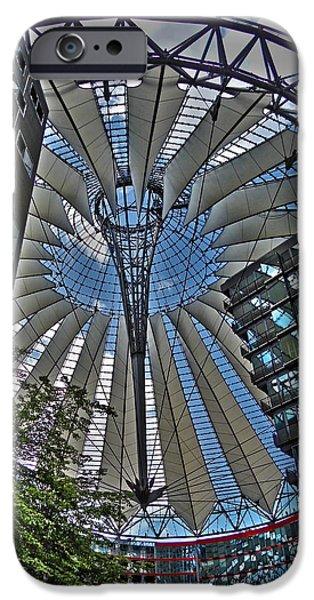 Sony Center - Berlin iPhone Case by Juergen Weiss