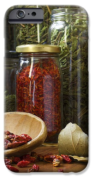 Spicy still life iPhone Case by Carlos Caetano