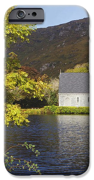 St. Finbarres Oratory On Shore iPhone Case by Ken Welsh