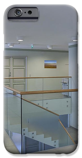 Stairwell in and Office iPhone Case by Jaak Nilson