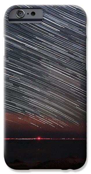 Star Trails iPhone Case by Laurent Laveder