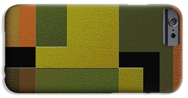 Geometrical Art iPhone Cases - Strength iPhone Case by Ely Arsha