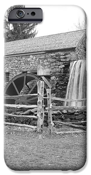 Sudbury Grist Mill  iPhone Case by Catherine Reusch  Daley