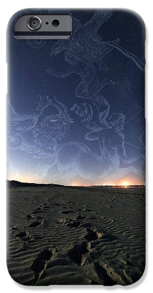 Summer Night Sky iPhone Case by Laurent Laveder