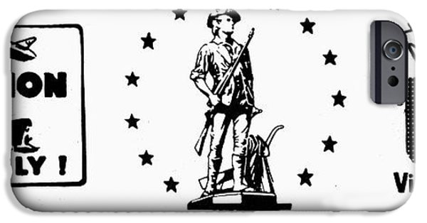 Nation iPhone Cases - Symbols: World War Ii iPhone Case by Granger