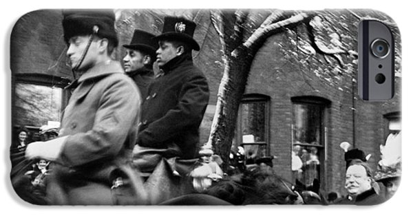 Inauguration iPhone Cases - Taft Inauguration, 1909 iPhone Case by Granger