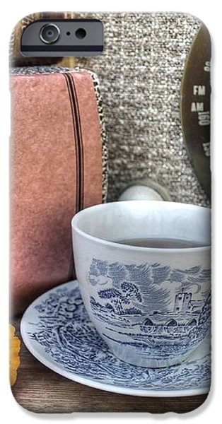 Tea Time iPhone Case by Jane Linders