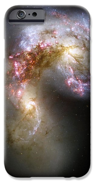 The Antennae Galaxies iPhone Case by Stocktrek Images