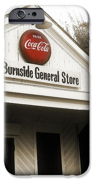 The Burnside General Store iPhone Case by Scott Pellegrin