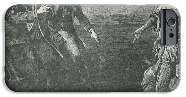 Antislavery iPhone Cases - The Capture Of Margaret Garner iPhone Case by Photo Researchers