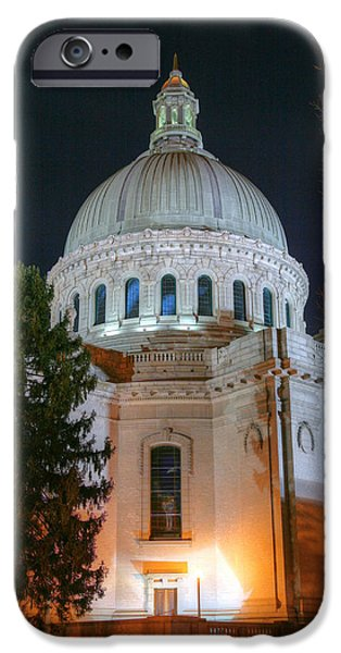 Annapolis Md iPhone Cases - The Dome iPhone Case by JC Findley