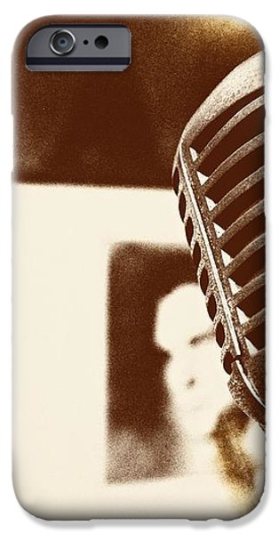 THE ELVIS MIC iPhone Case by JAMART Photography
