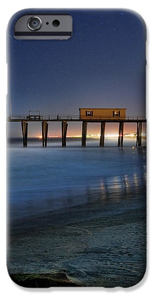 The Fishing Pier iPhone Case by Paul Ward