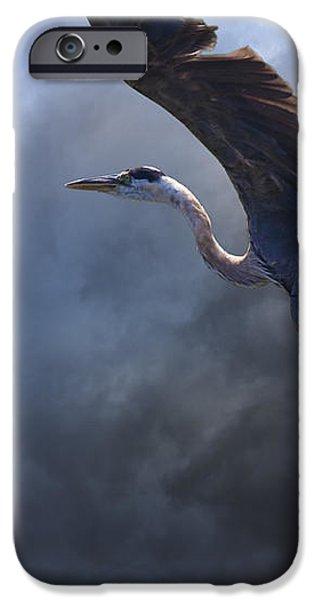 The Flight Of Titans iPhone Case by Ron Jones