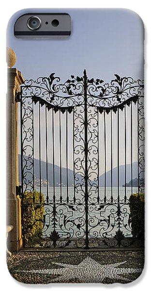 The gateway to Lago di Lugano iPhone Case by Joana Kruse