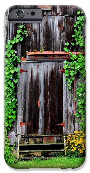 The Old Shed iPhone Case by Perry Webster