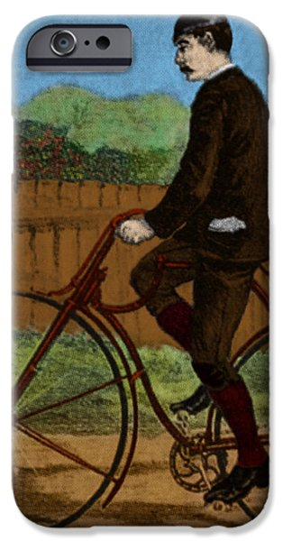 The Rover Bicycle iPhone Case by Science Source