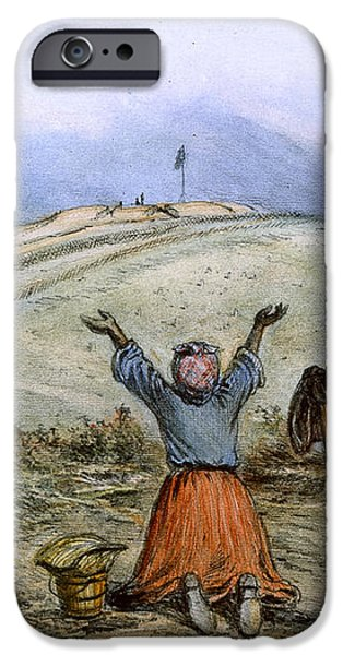 THE SANCTUARY, 1863 iPhone Case by Granger