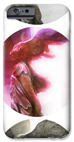 Thin iPhone Cases - The Winged Victory - Paris - Louvre iPhone Case by Marianna Mills