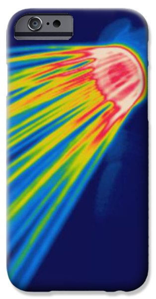 Thermogram Of A Shower Head iPhone Case by Ted Kinsman