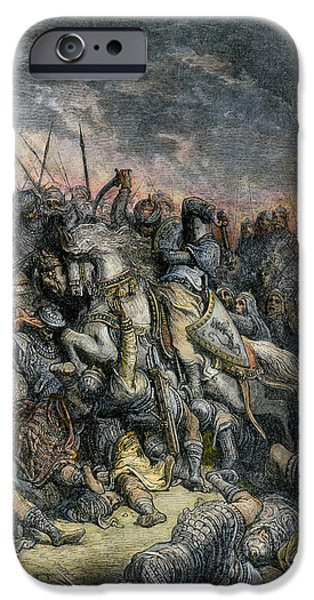 The Horse iPhone Cases - Third Crusade, 1191 iPhone Case by Granger