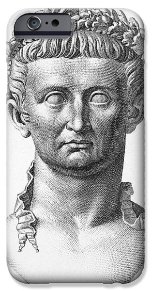 TIBERIUS (42 B.C.- 37 A.D.) iPhone Case by Granger