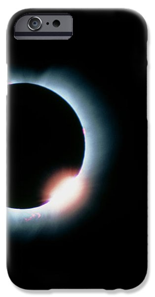 Total Solar Eclipse, 11 July 1991 iPhone Case by Dr Fred Espenak