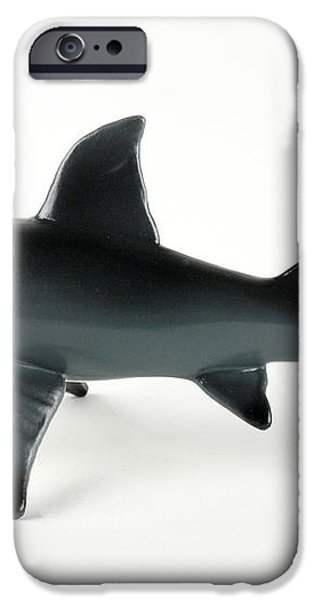 Toy Shark iPhone Case by Photo Researchers, Inc.