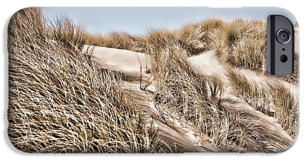Sand Dunes Mixed Media iPhone Cases - Tranquility iPhone Case by Bonnie Bruno