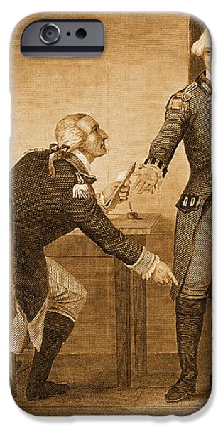 Treason Of Benedict Arnold, 1780 iPhone Case by Photo Researchers