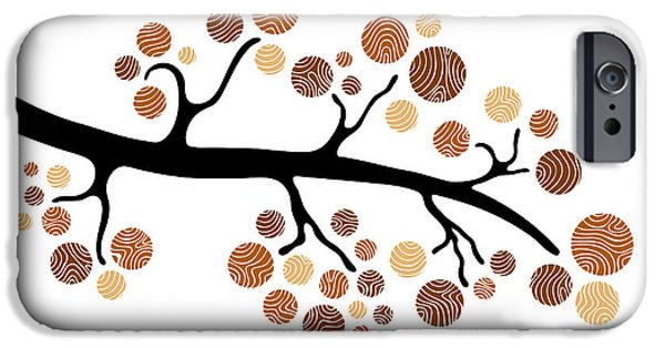 Wood Carving iPhone Cases - Tree Branch iPhone Case by Frank Tschakert