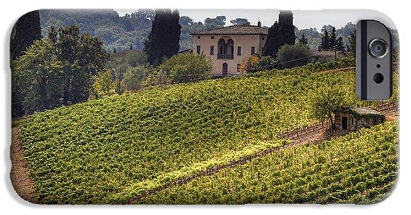 Vine iPhone Cases - Tuscany iPhone Case by Joana Kruse