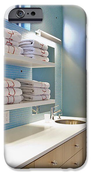 Upscale Bathroom Interior iPhone Case by Inti St. Clair