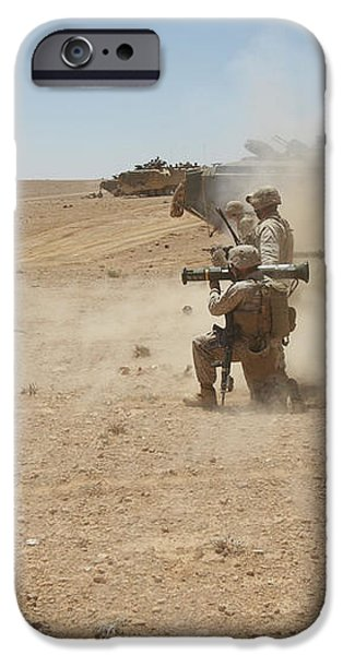 U.s. Marines Fire Several iPhone Case by Stocktrek Images