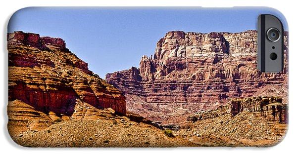 Northern Colorado iPhone Cases - Vermilion Cliffs Arizona iPhone Case by Jon Berghoff