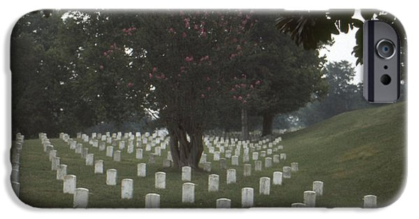 Cemetary iPhone Cases - Vicksburg: Cemetery iPhone Case by Granger
