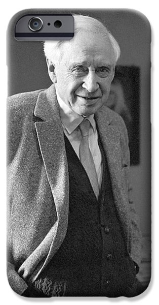 Biochemist iPhone Cases - Vladimir Engelgardt, Soviet Biochemist iPhone Case by Ria Novosti