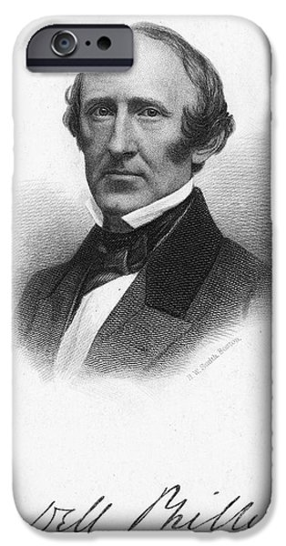 WENDELL PHILLIPS (1811-1884) iPhone Case by Granger