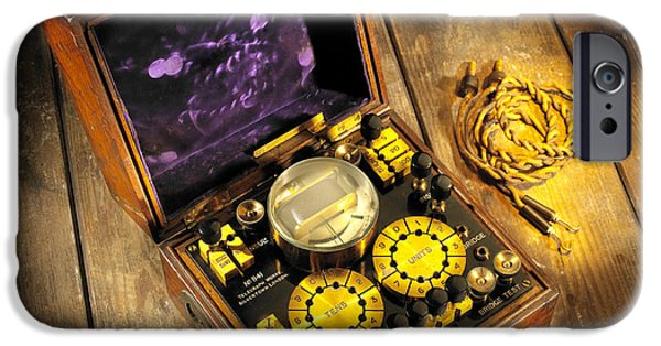 Electrical Equipment iPhone Cases - Wheatstone Bridge iPhone Case by Mark Sykes