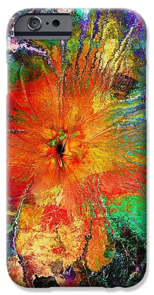 Floral Digital Art Digital Art iPhone Cases - Will You Love Me Tomorrow iPhone Case by Amanda Moore