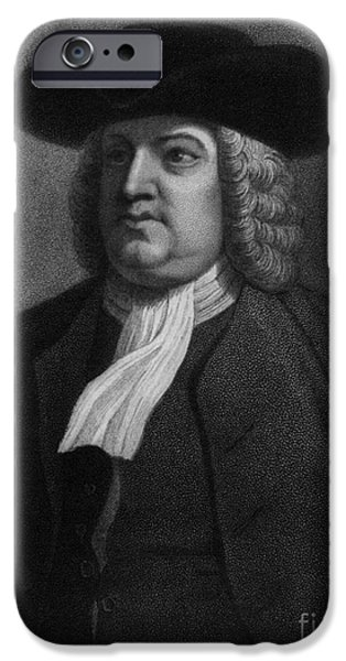 William Penn, Founder Of Pennsylvania iPhone Case by Photo Researchers