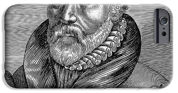 New Martyr iPhone Cases - William Tyndale iPhone Case by Granger