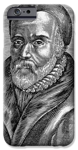 WILLIAM TYNDALE iPhone Case by Granger