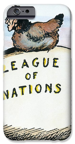 WILSON: LEAGUE OF NATIONS iPhone Case by Granger