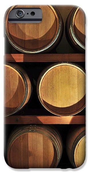 Wine barrels iPhone Case by Elena Elisseeva