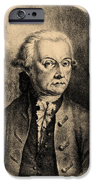 Operatic iPhone Cases - Wolfgang Amadeus Mozart, Austrian iPhone Case by Photo Researchers, Inc.