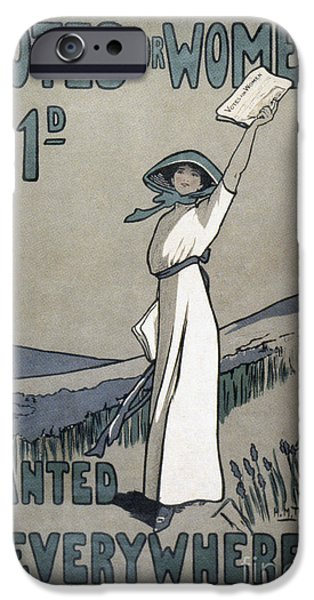 WOMENS RIGHTS iPhone Case by Granger
