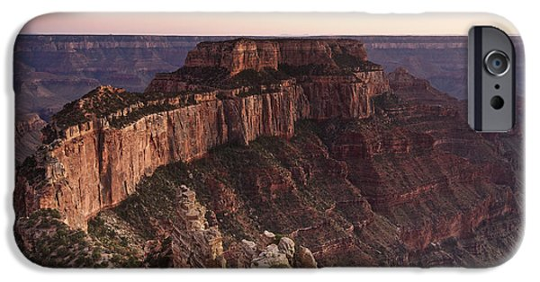 Popular iPhone Cases - Wotans Throne, Grand Canyon National iPhone Case by Terry Moore