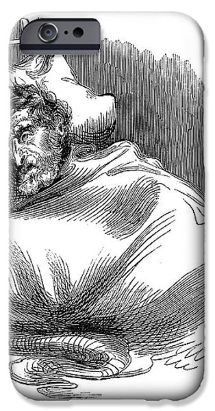 WOUNDED JOHN BROWN, 1859 iPhone Case by Granger