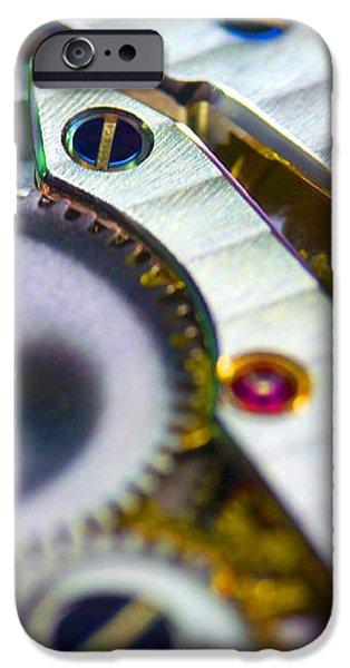 Wrist Watch Interior iPhone Case by Pasieka